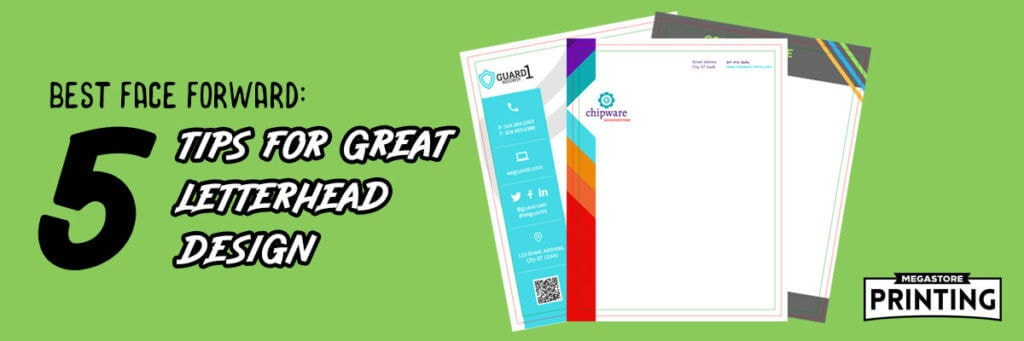5 tips for better letterhead design