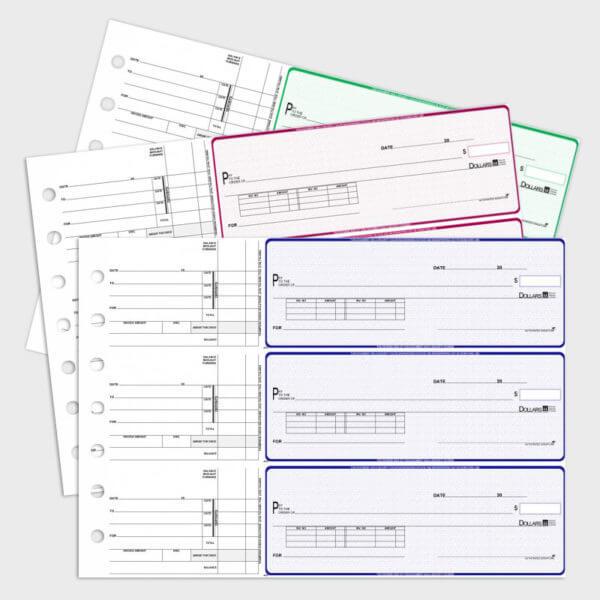 manual checks 3 to a sheet
