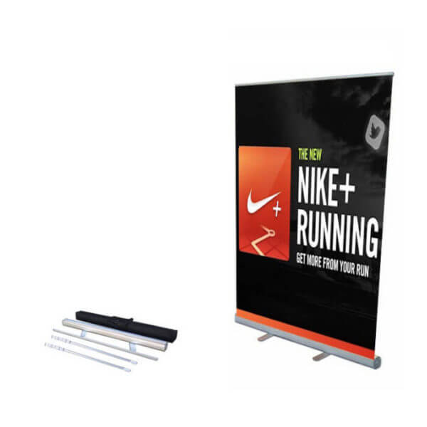 roll up banner stand kit