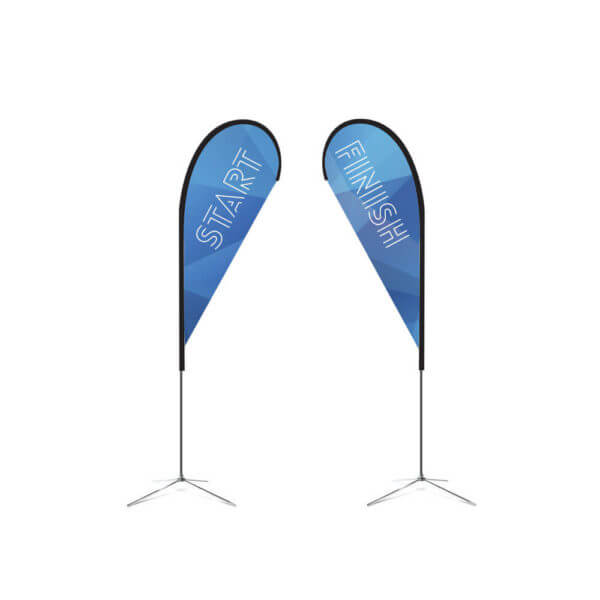 8.6' feather flag 2-sided