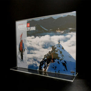 11 x 8.5 acrylic holder