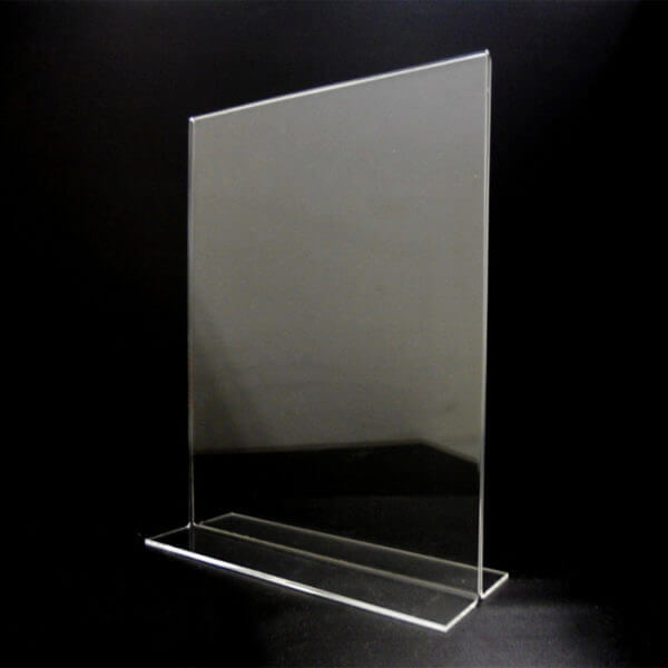 8.5 x 11 clear holder