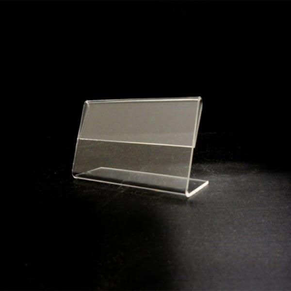 3.5 x 2 slant back sign holder