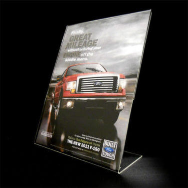 Acrylic Display Sign Holders