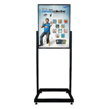 Floor Standing Poster Frames
