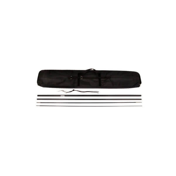 flag kit poles and carrying case