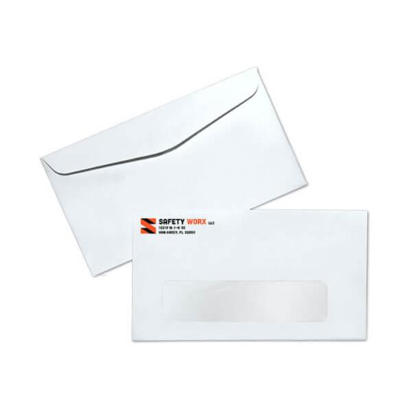 Spot Color 6 3/4 Regular Window Envelope