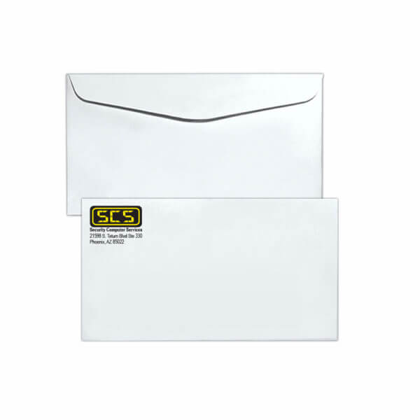 Spot Color 6 3/4 Regular Envelope