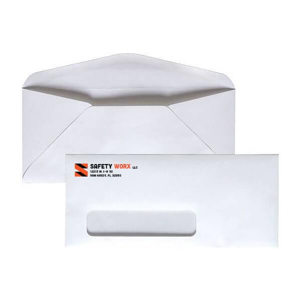 Spot Color #9 Window Envelope