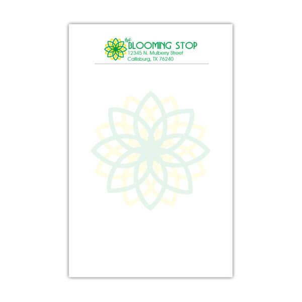 Spot Color 5.5 x 8.5 Notepads