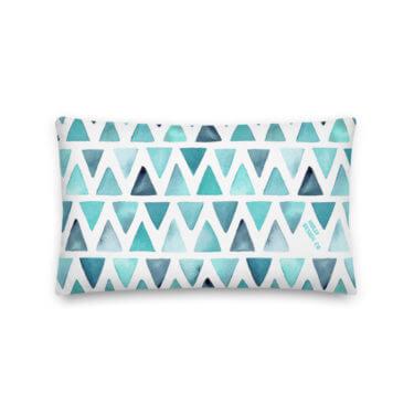 custom print pillow