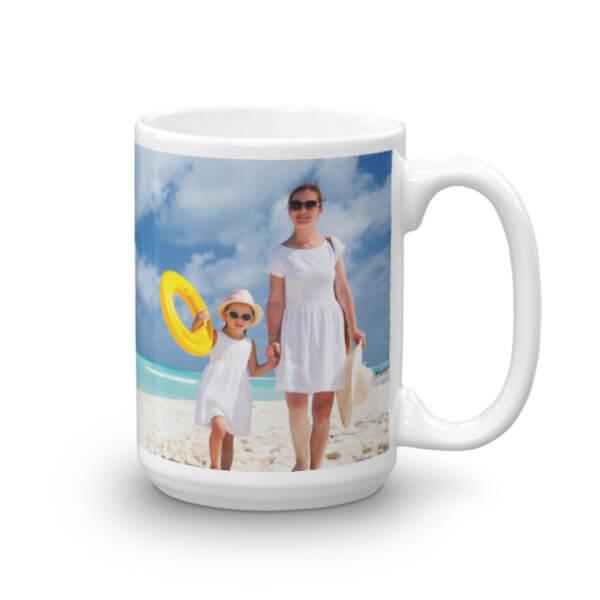 custom print photo mug