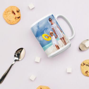 15 oz photo mug