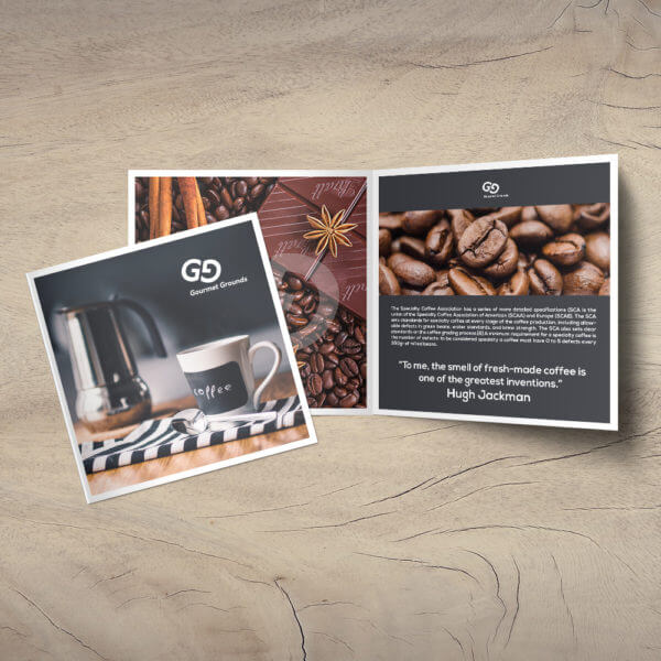 long coffee brochure