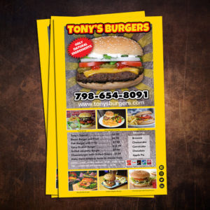 jumbo flyers, burger joint
