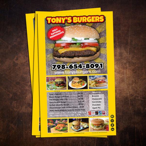 jumbo flyers, burger joint